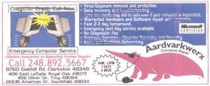 AardvarkWerx Old Advertisement