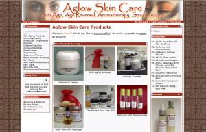 Aglow Skin Care E-commerce Website