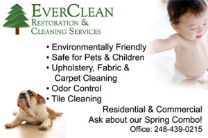EverClean Restoratioins Print Advertisement