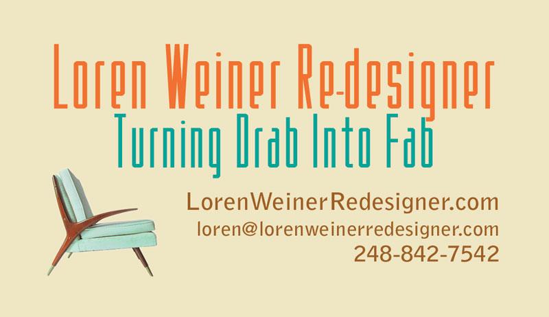 Loren Weiner Re-Designer