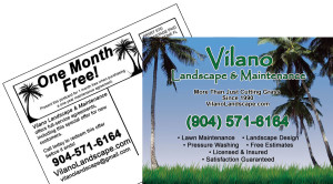 Vilano Landscape Post Card Direct Mail